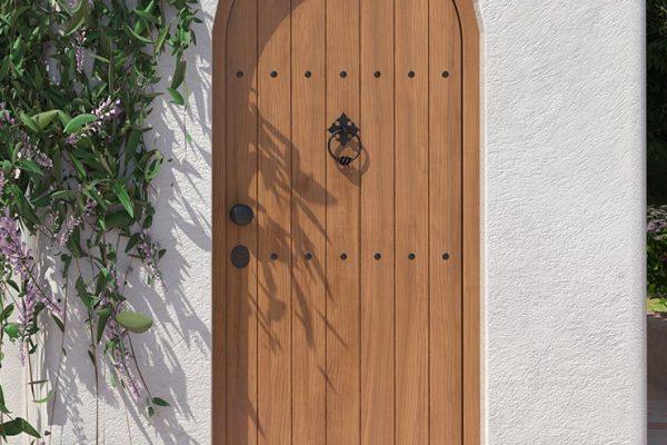 Security Steel Door Arch