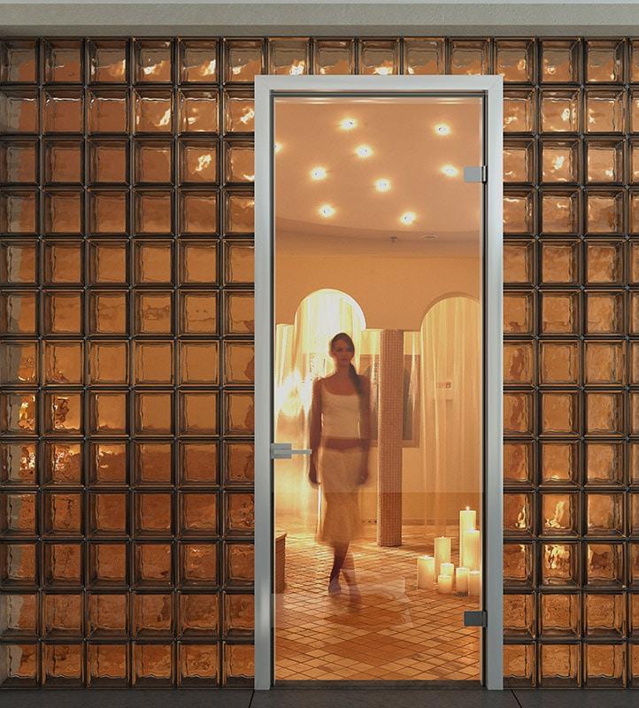Vetro Εσωτερική Γυάλινη Πόρτα