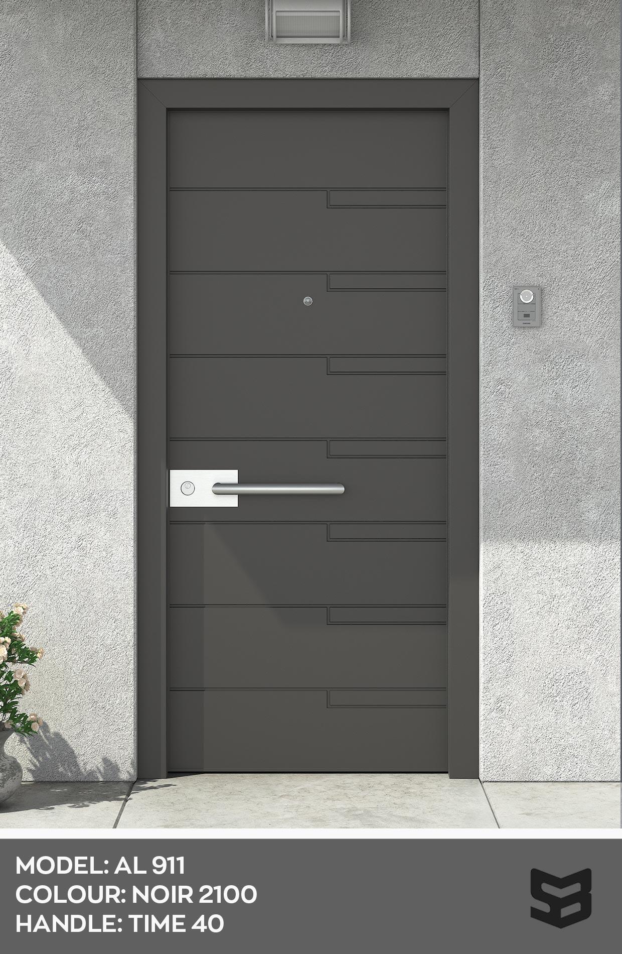 Πόρτα Αλουμινίου AL911