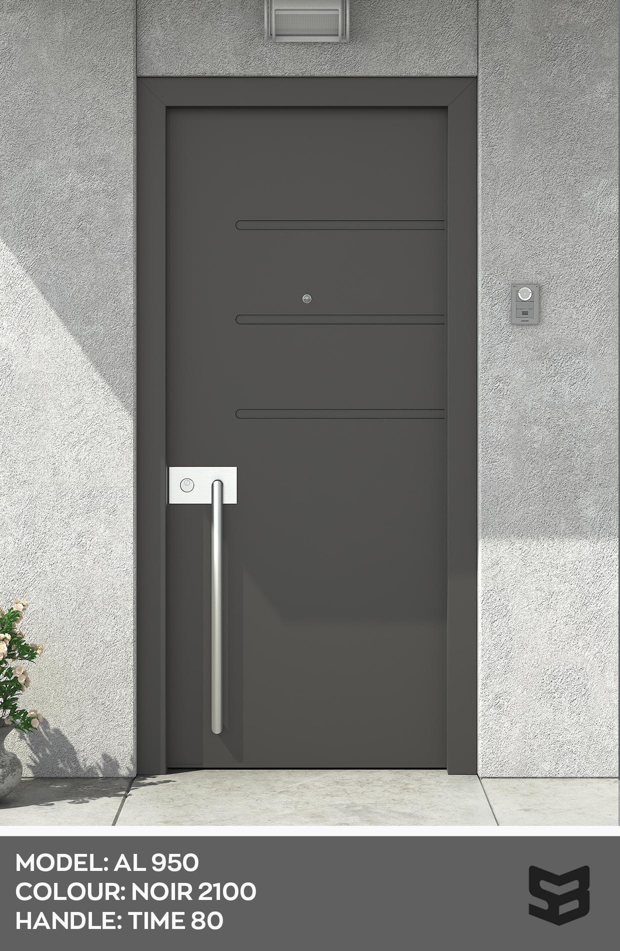 Aluminium Door AL950