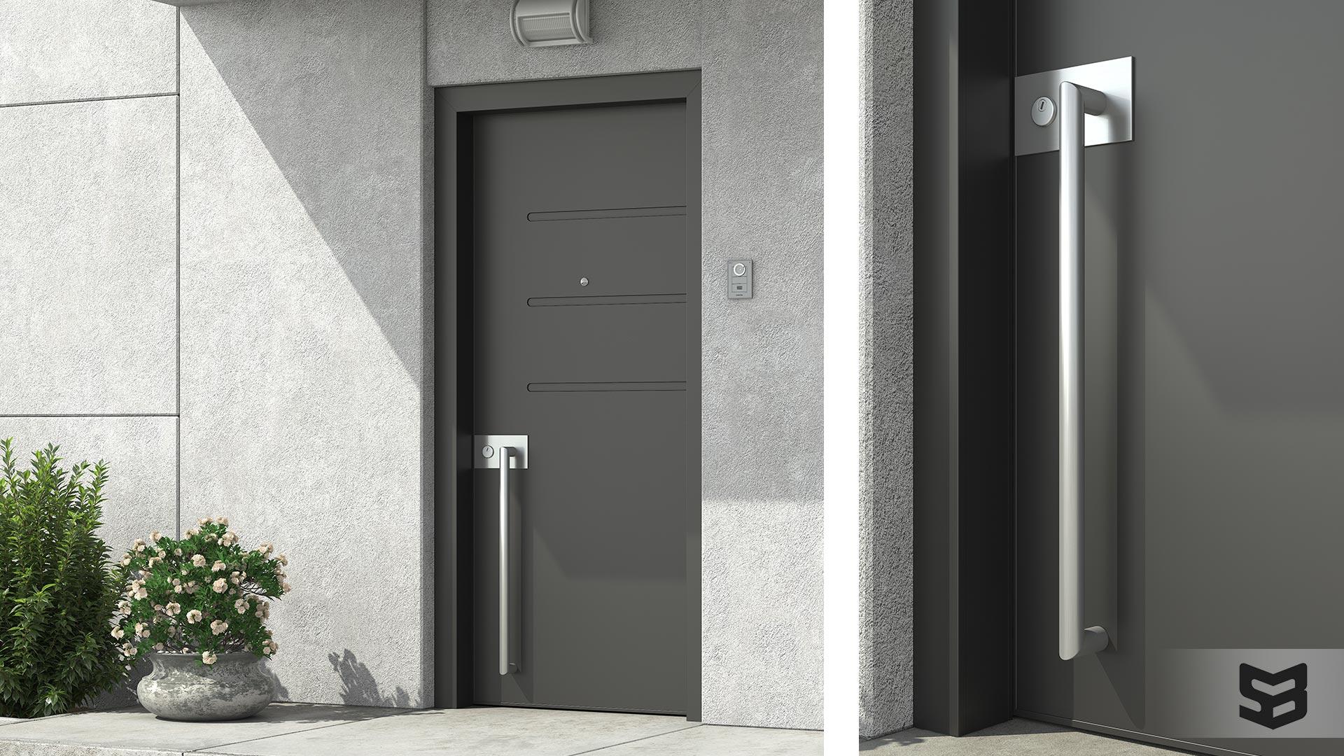 Aluminium Door - Πόρτα Αλουμινίου