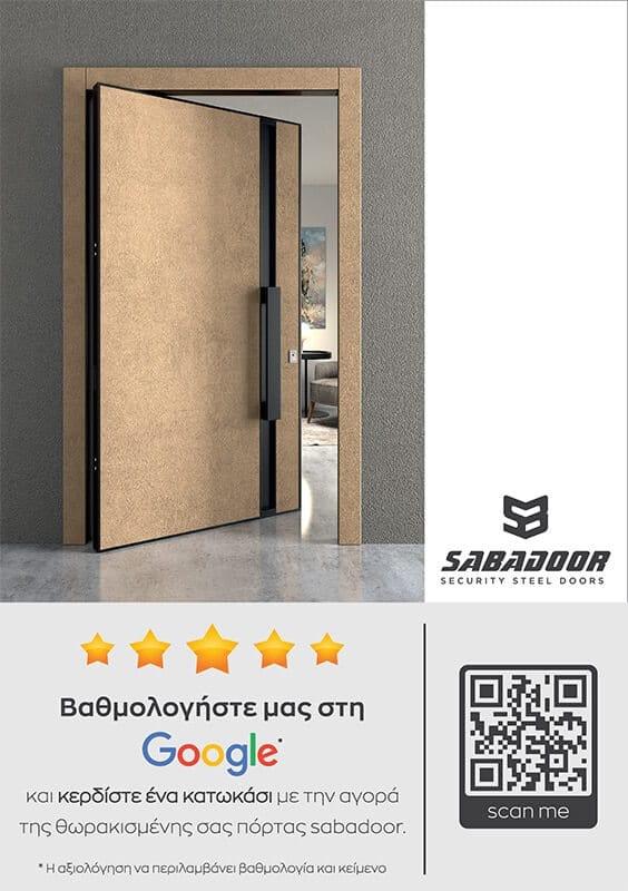 θωρακισμένες πόρτες Ασφαλείας
