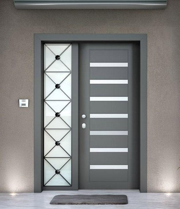 Sabadoor Aluminium Doors Αλουμινίου Θωρακισμένες Πόρτες
